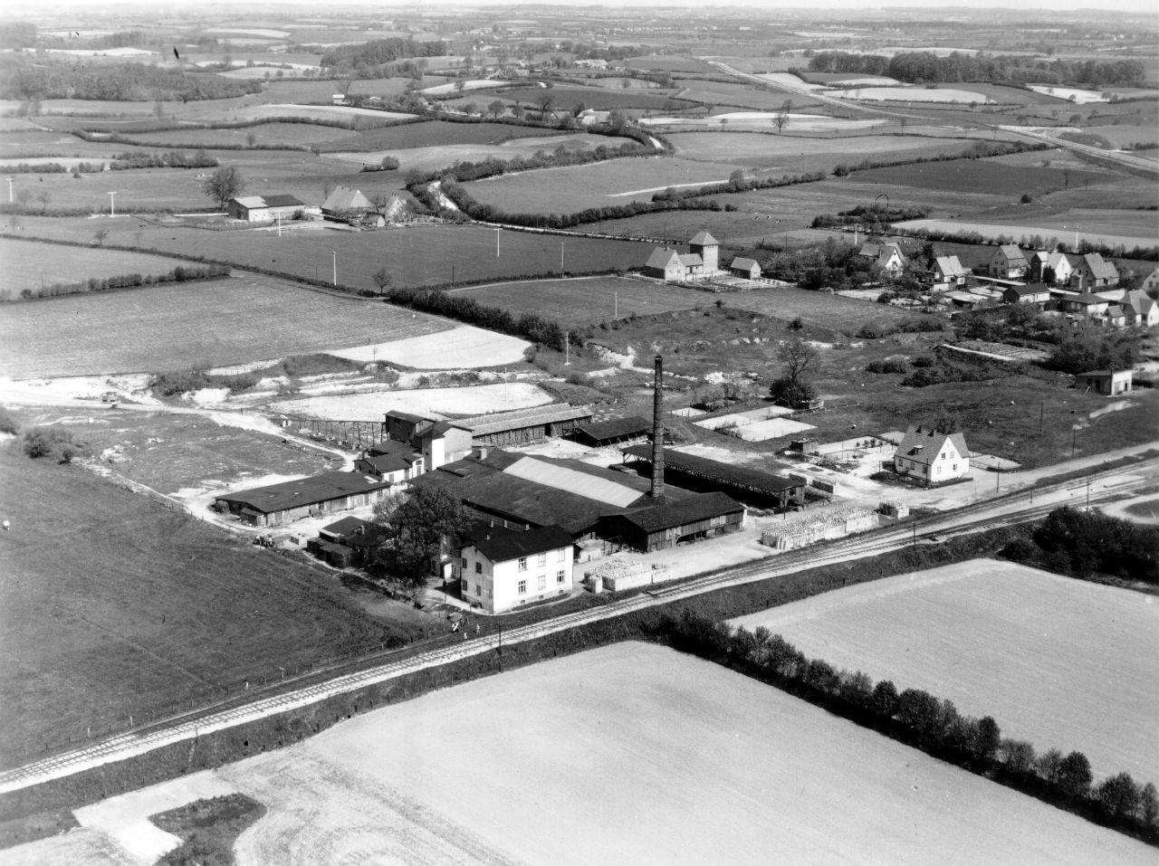 Ziegelei Luftbild 1954
