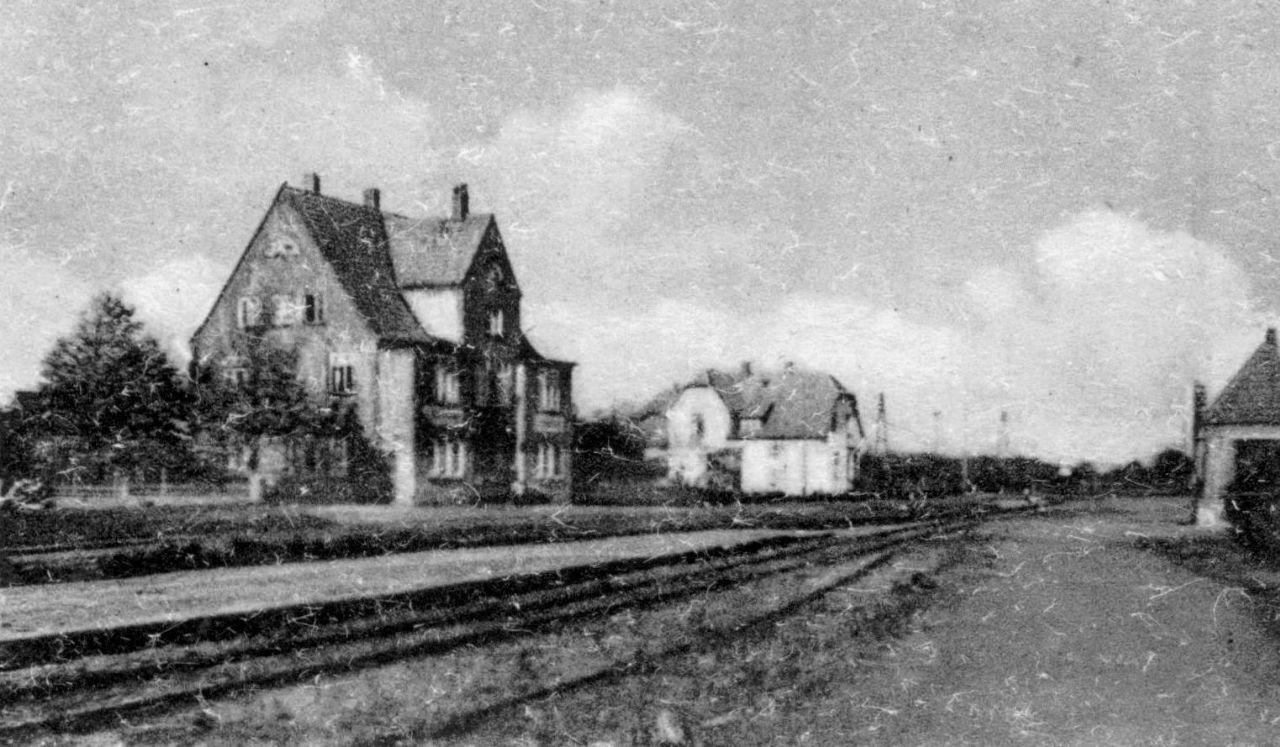 Kleinbahnhof Stolpe 1950