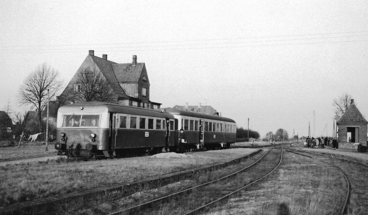 Kleinbahnhof Stolpe 1961 - Luckmann