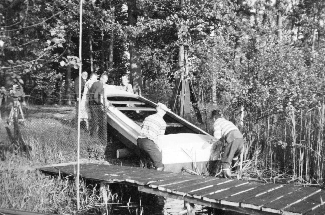 Stapellauf Sturmboot