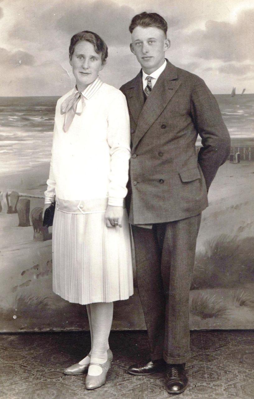 Gerd und Hilda Siebels auf Amrum