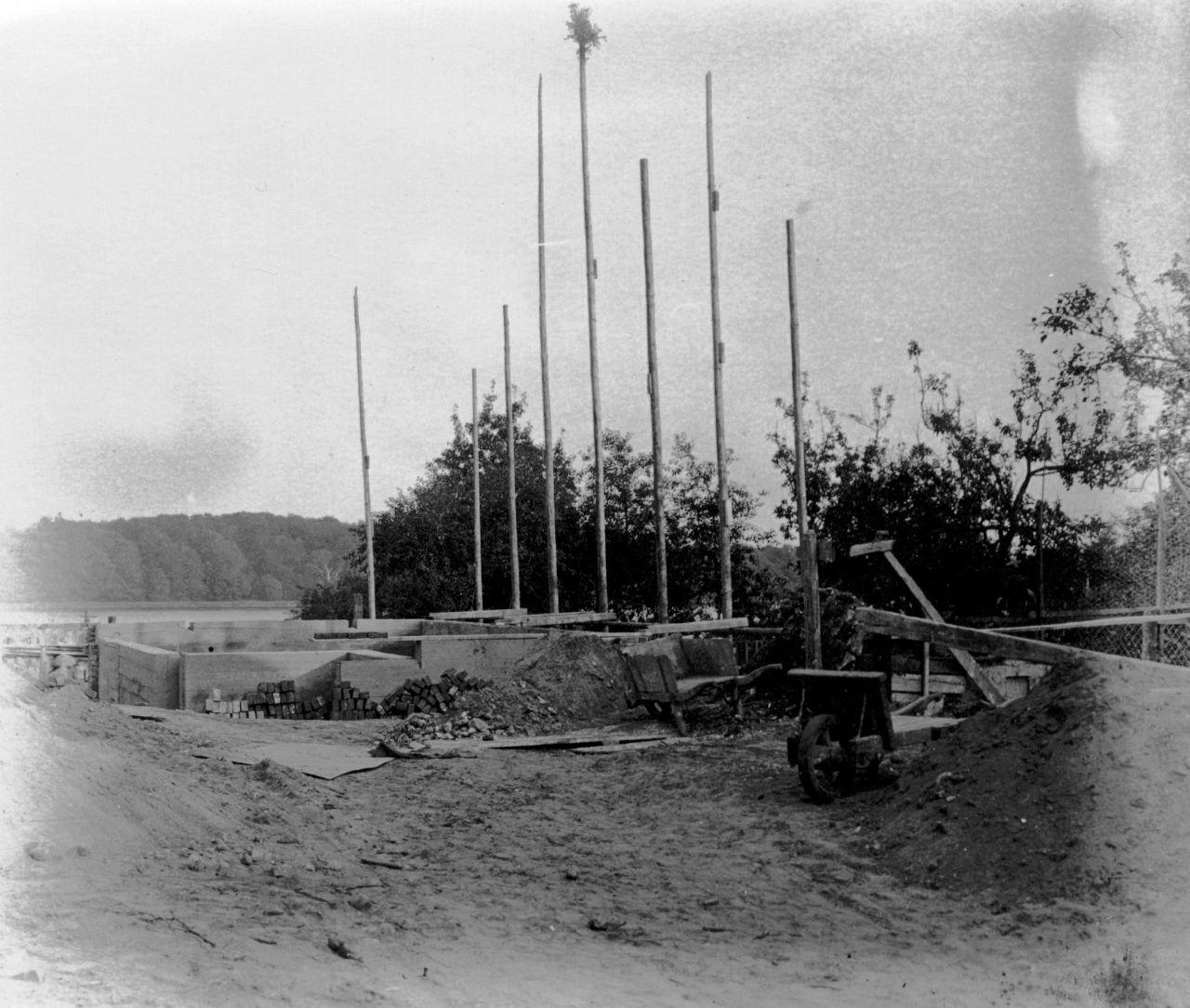 Grundsteinlegung Schule 1938
