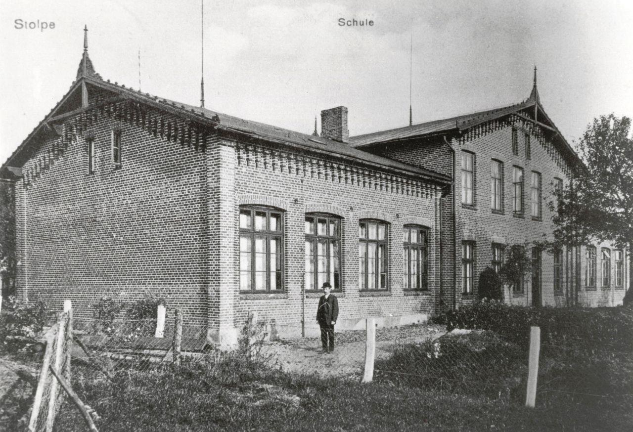 Schule um 1900