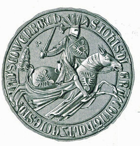 Das Siegel von Johann III. (Holstein-Kiel)