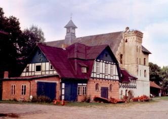 Blick auf das Torhaus