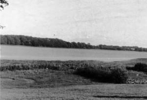 Blick auf den Stolper See vom Hof Brauer aus