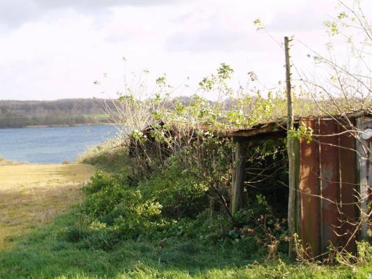 Der alte Melkstand im November 2007
