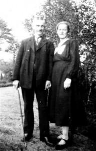 Die Eltern von Erich- Ötje-Bäcker und seine Frau Emmi