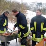 Die Feuerwehr am Grill