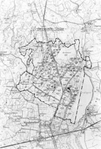 Die Flurkarte von Stolpe 1972 ohne Depenau (Quelle- O. Kock)