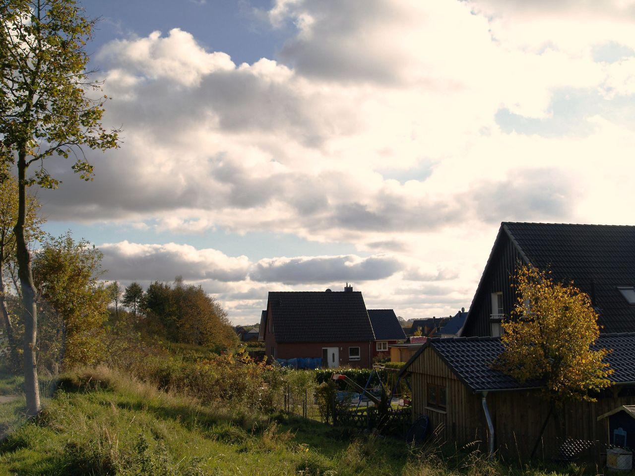 Erste Häuser Im Grund
