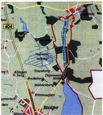 Fahrradtour durch das Depenauer Hochmoor