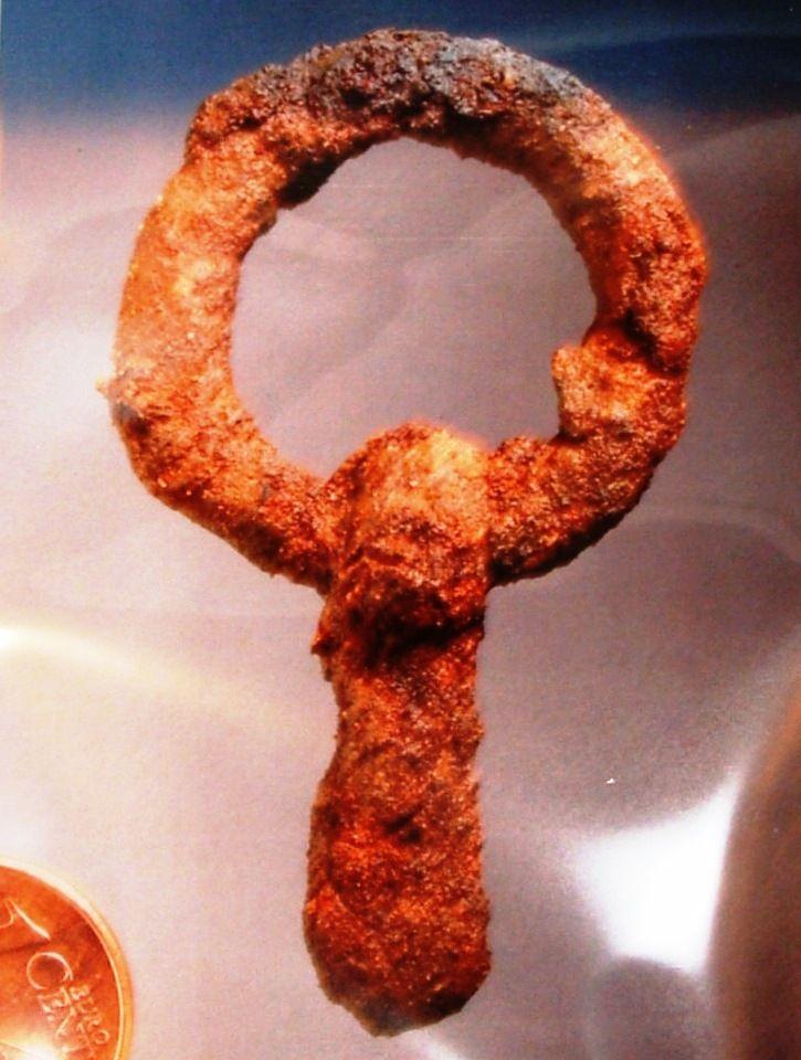 Gürtelschnalle aus dem römischen Kaiserreich
