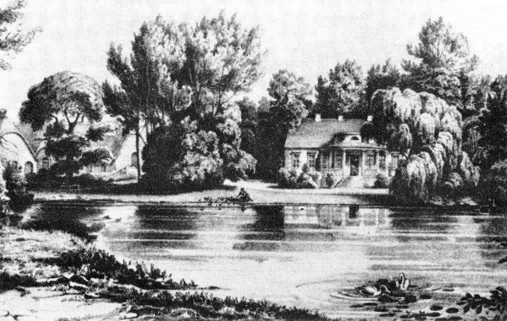 Herrenhaus um 1850