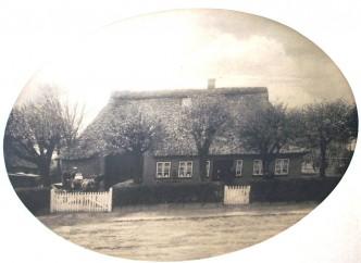 Hof Saggau vor dem Brand 1909