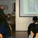 Jens-Uwe Matzen beim Power-Point Vortrag
