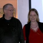 Jens-Uwe Matzen und Antonia Vogel