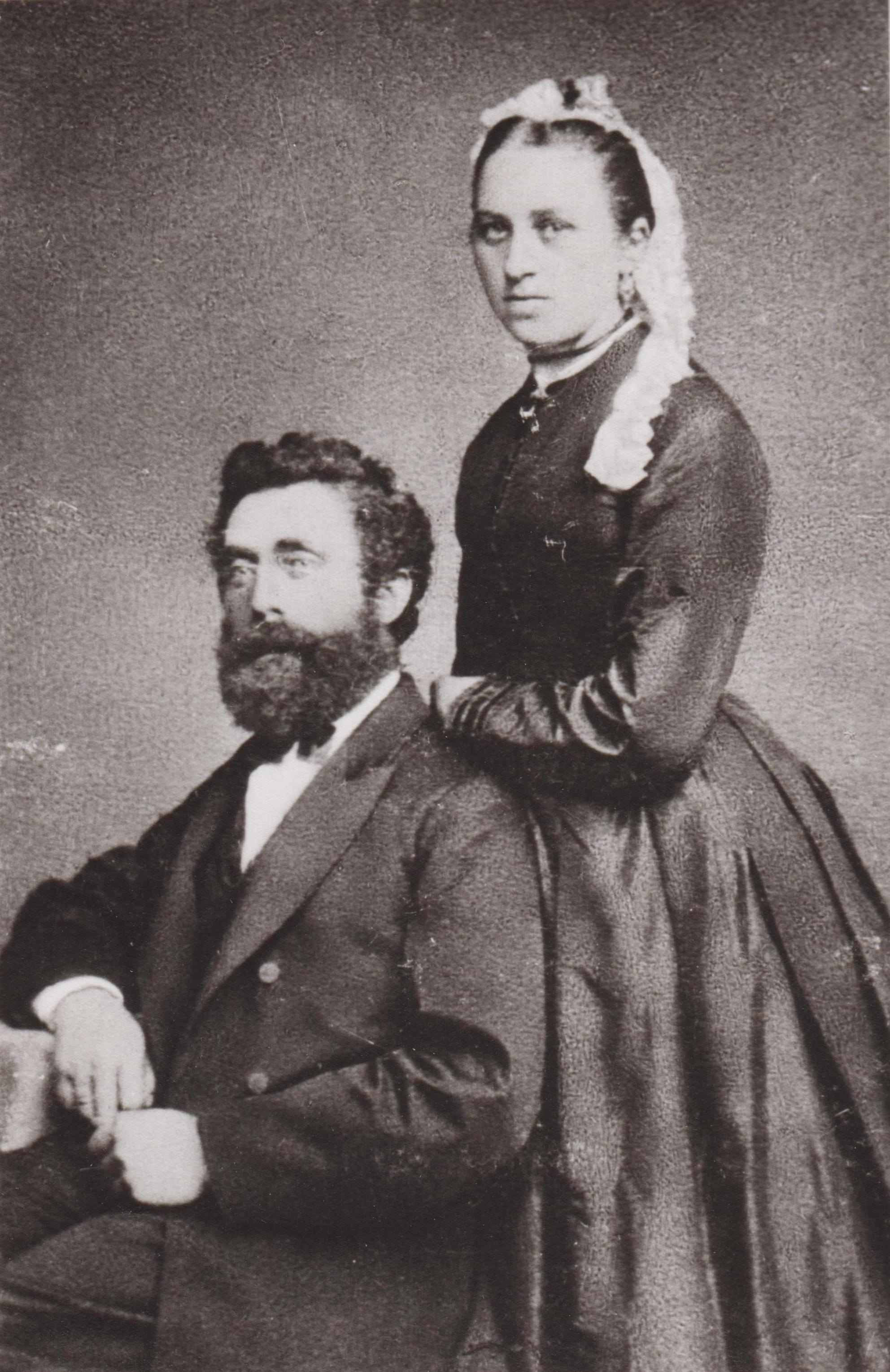 Johann Hinrich Duggen und Frau