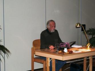 Jürgen Burmeister liest aus seinem Buch