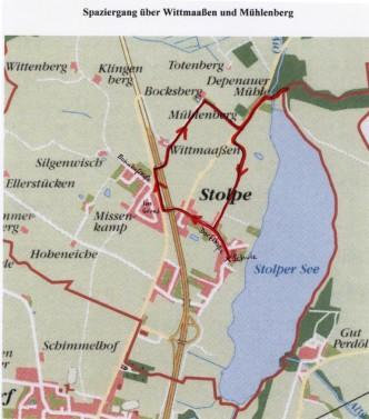 Karte zu Spaziergang über Wittmaaßen und Mühlenberg