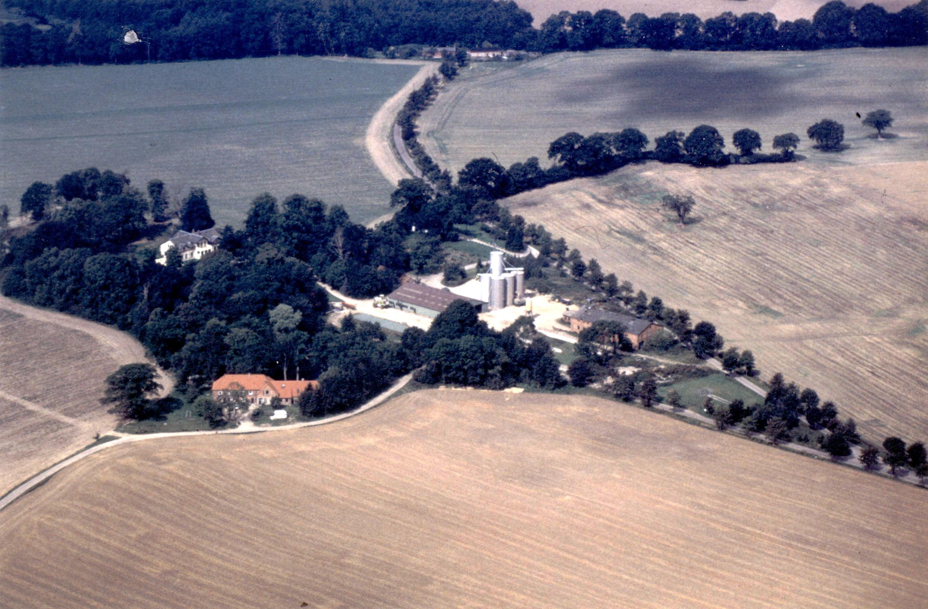 Luftaufnahme Gut Horst - farbig