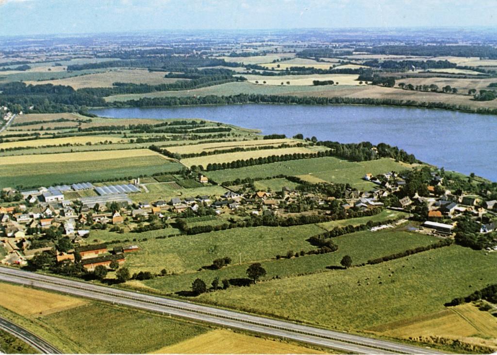 Luftbild der Gemeinde Stolpe (Foto: Stender)