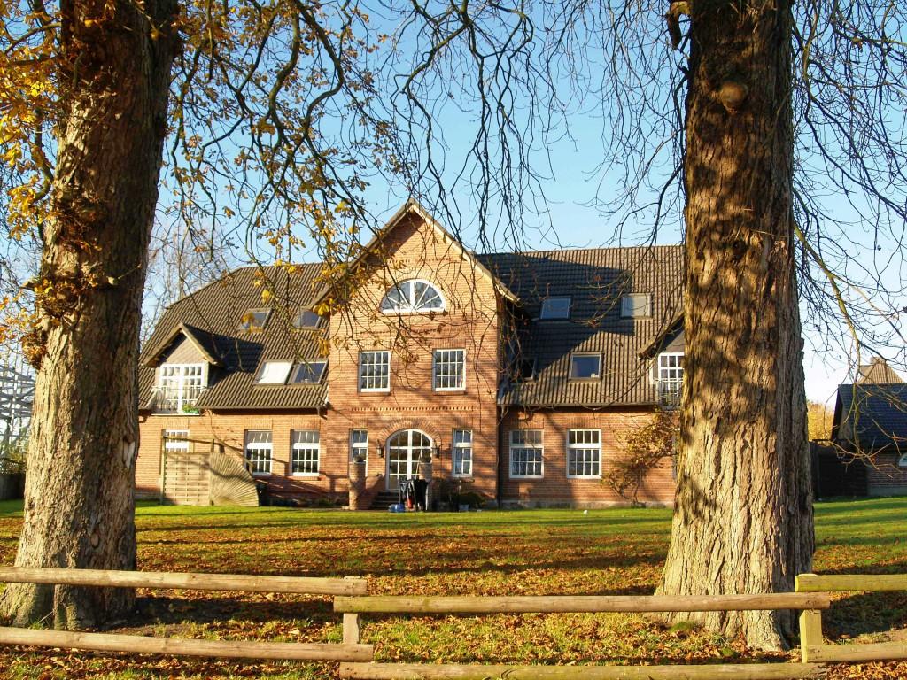 Neu restauriertes Verwalterhaus