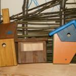 Nisthilfen aus Holz