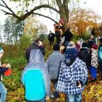 Nistkasten für die Kastanie im alten Schulwald