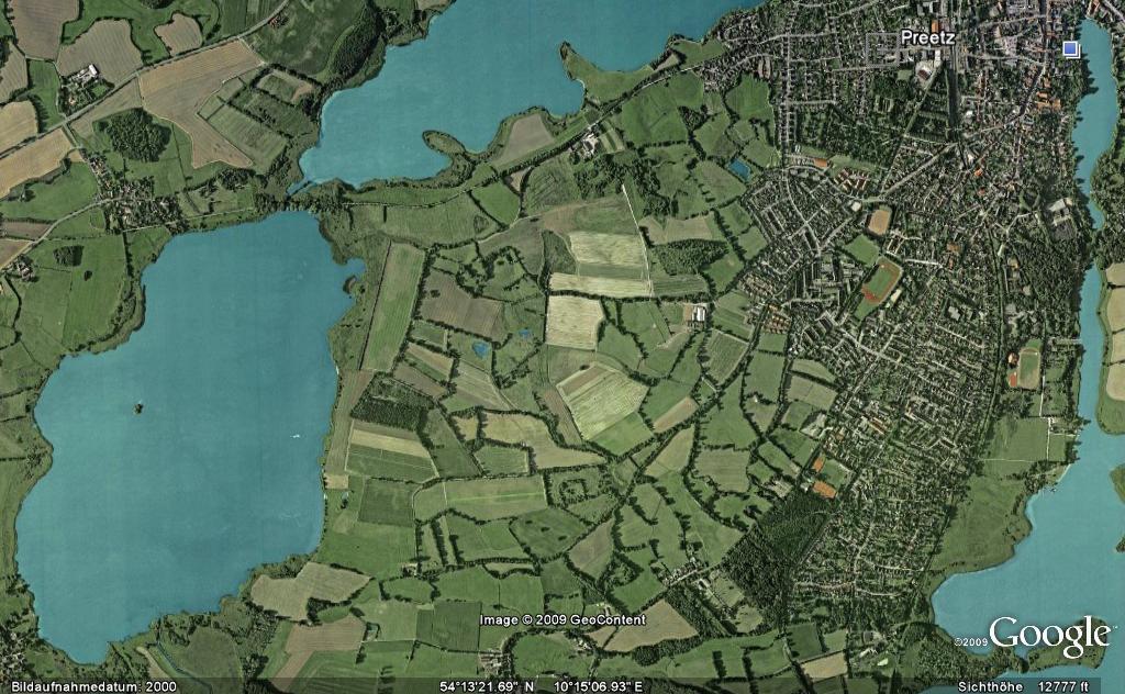 Postseefeldmark Google Earth
