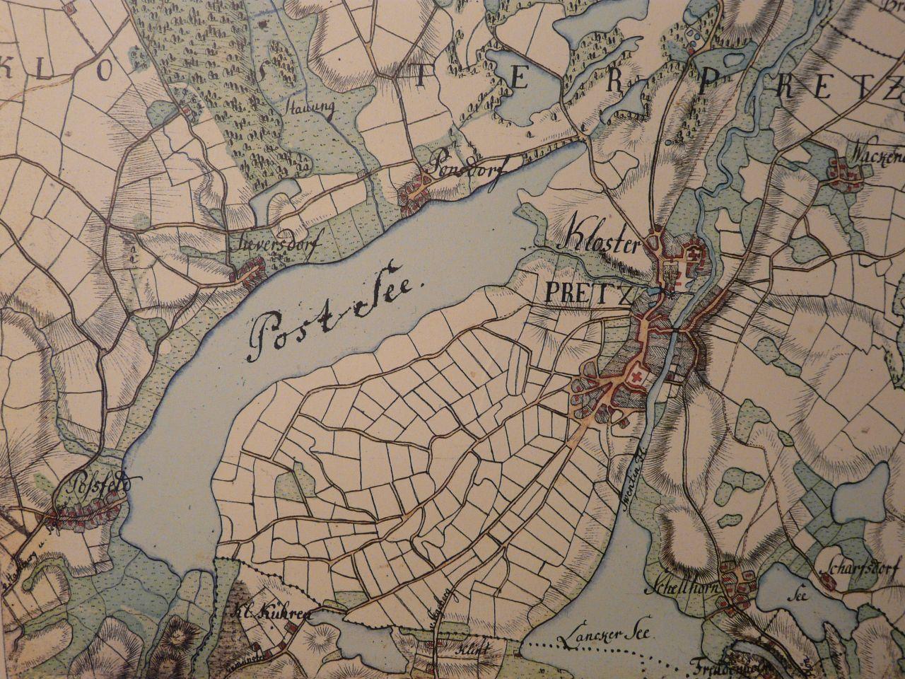 Postseefeldmark Varendorf-Karte