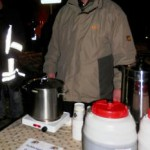 Prof. Peter Gohlke im Einsatz für den Angelverein Stolpe