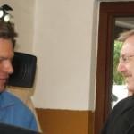 Robert Habeck und Holger Bajorat