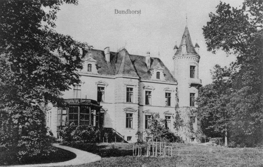 Schloss Bundhorst Vorderansicht