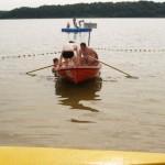 Selbst ein Boot wurde gekapert für die Rettung vom Boot aus