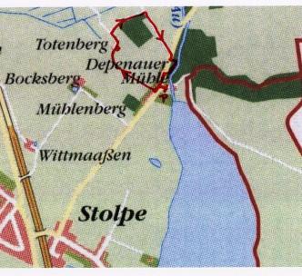 Spaziergang rund um den Totenberg