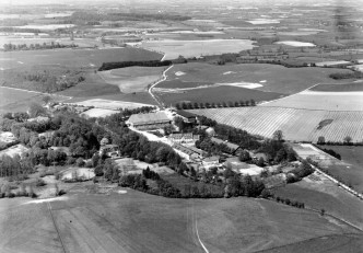 Luftbild Gut Depenau 1954