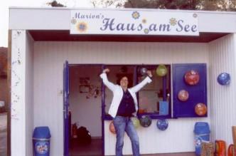 Unsere Kiosk-Betreiberin feierte