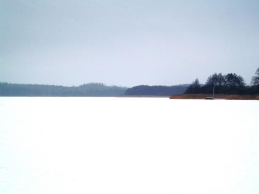 Blick über den Stolper See nach Süden