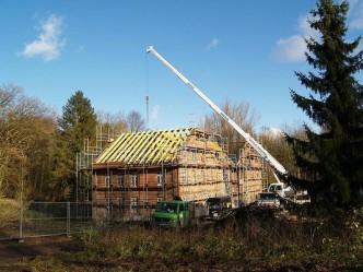 Der neue Dachstuhl