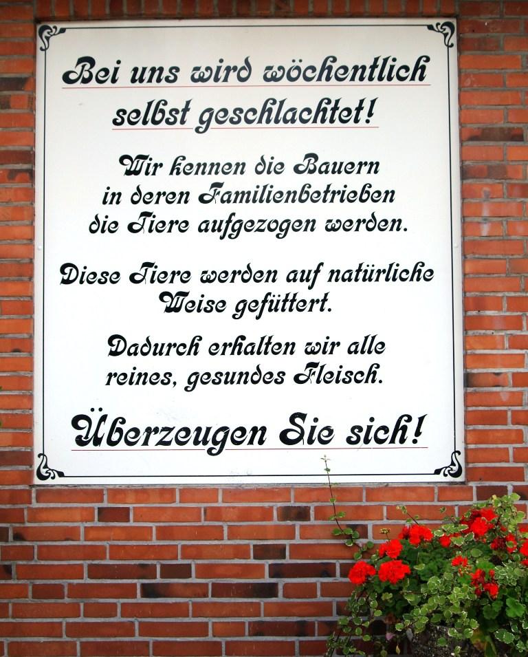 Infoschild Schlüter