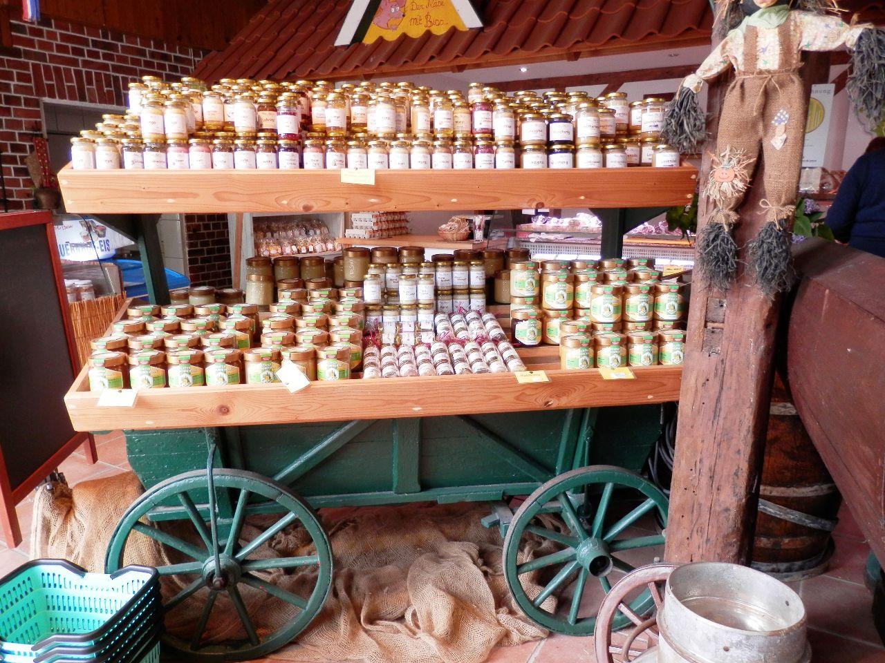 Das Honigsortiment