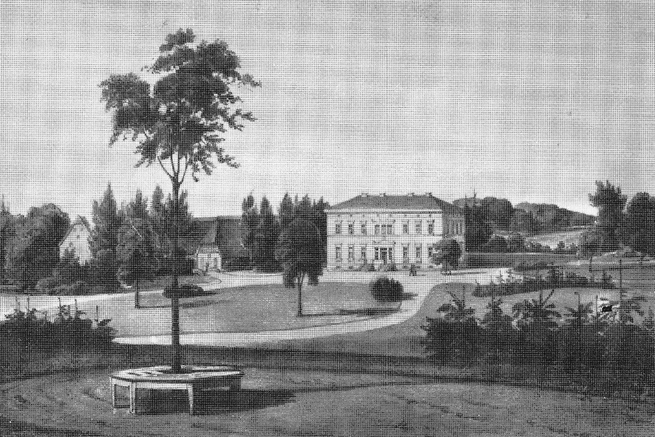 Herrenhaus Depenau um 1840