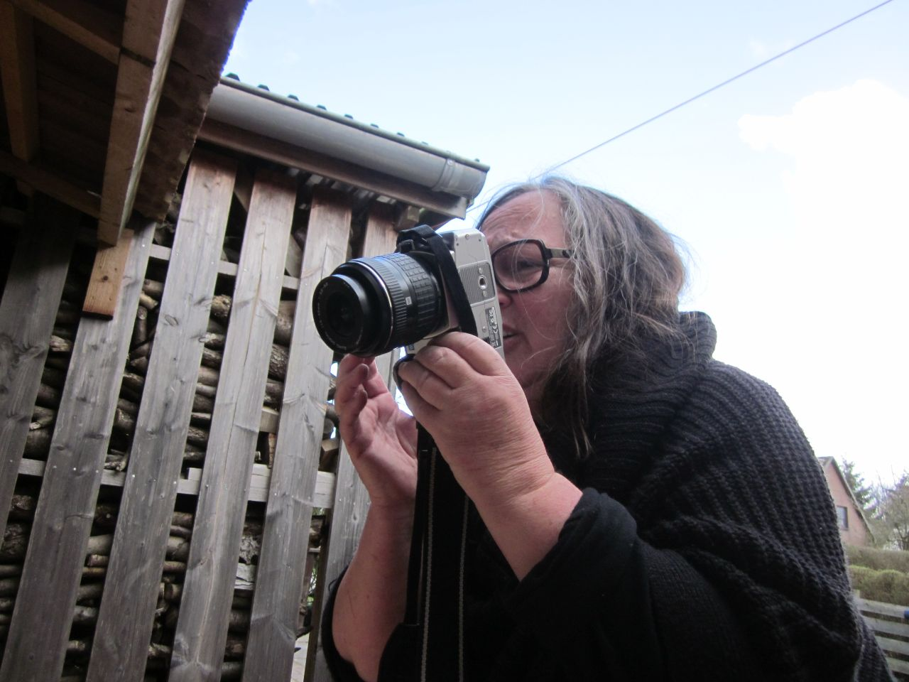 Thea fotografiert