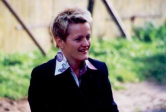Am 17.9.2004 besucht Landwirtschaftministerin Künast (Bündnis 90 / Die Grünen) den Hof des Biobauern Matthias Stührwoldt.