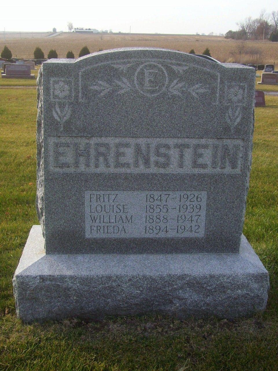 Grabstein Ehrenstein