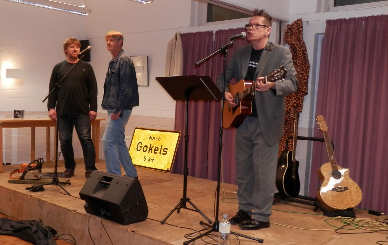 Matthias, Ralf und Achim