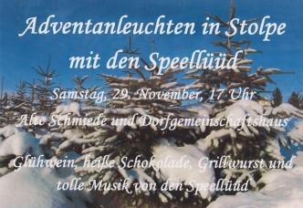 Plakat Anleuchten