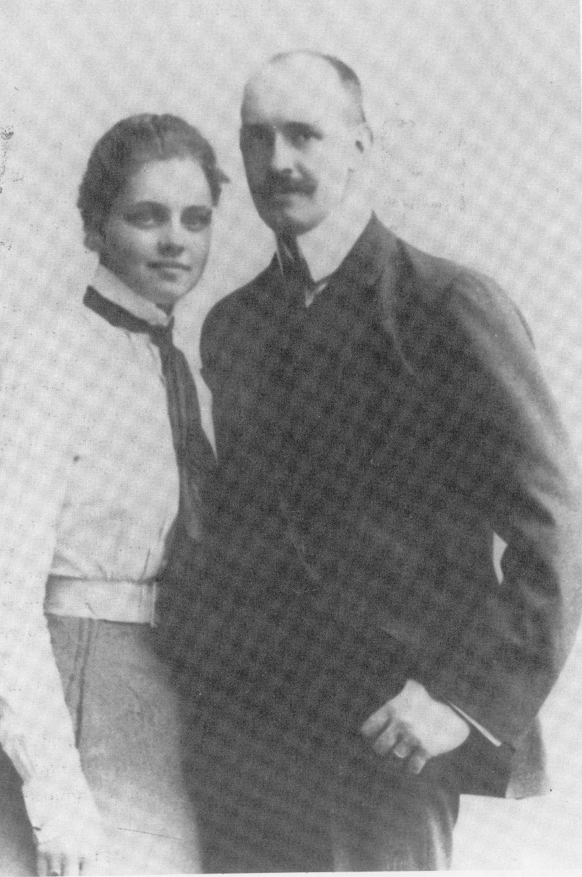 Anna und Kuno Verlobung 1901