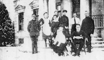 Besuch aus der kaiserlichen Familie 1921
